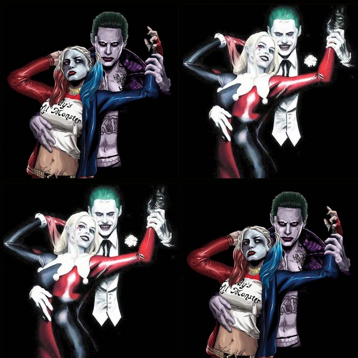 suicide squad harley quinn and the joker mad love - The Joker And Harley Quinn Halloween Costumes