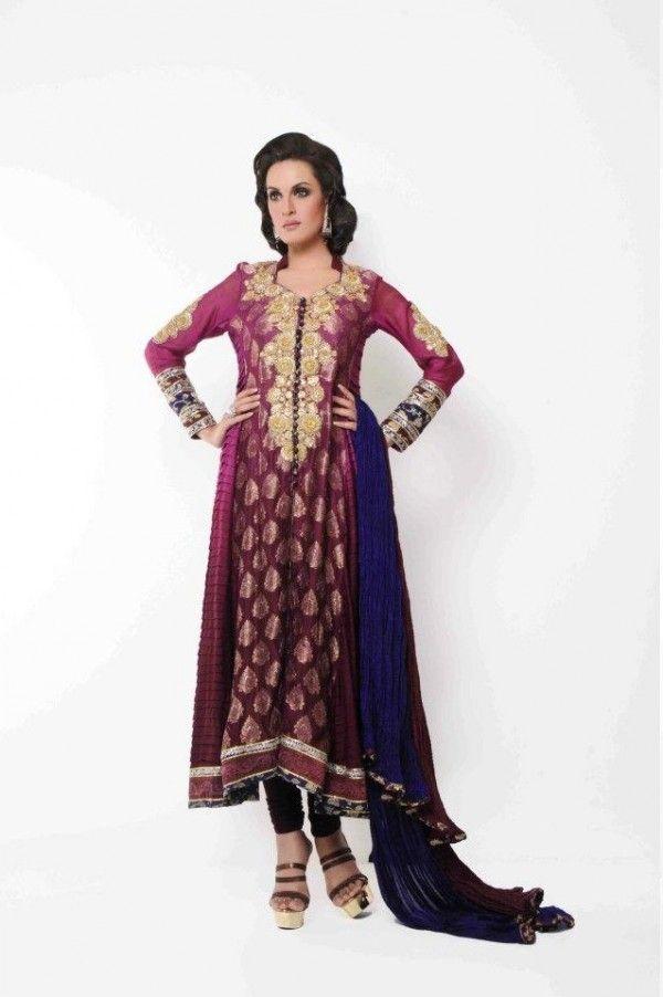 Eid Collection 2012 Umsha by Uzma Babar-