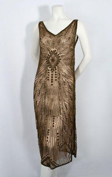 1000  ideas about 1920s Vintage Dresses on Pinterest | 1920s dress ...