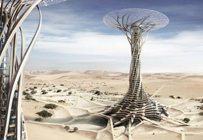 Les 25 meilleures id es de la cat gorie gratte ciels sur for Architecture futuriste ecologique