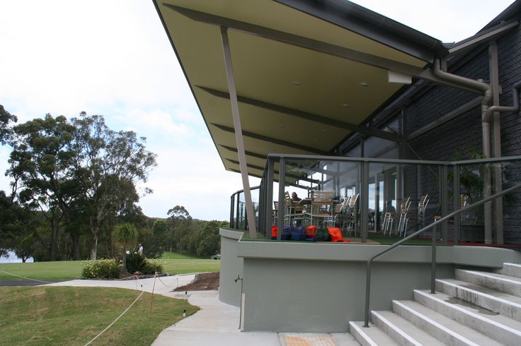 coffs harbour golf club verandah extension