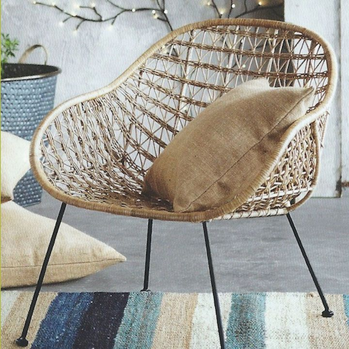 Lovely Comet Basket Chair   Eclectic   Chairs   Atlanta   By Iron Accents