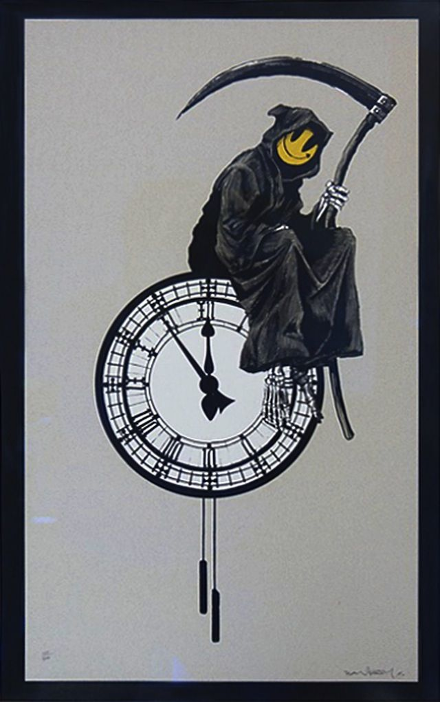 Grin Reaper. Banksy.