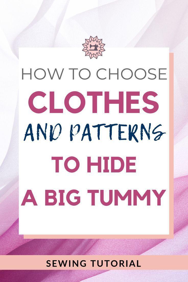 Schmeichelnde Kleidung für großen Bauch   – Näh-Ideen