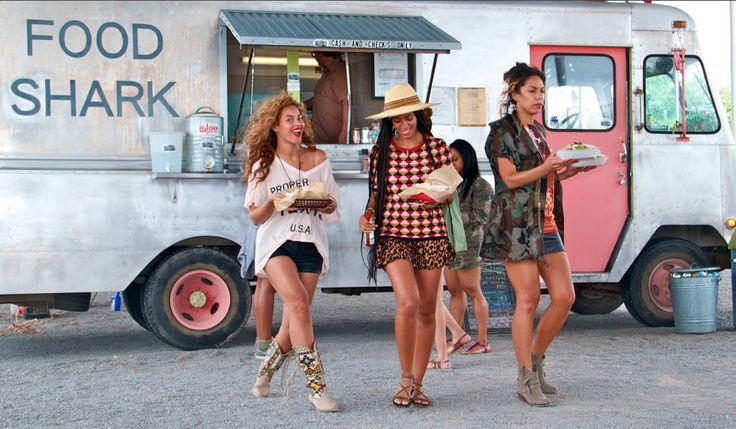 Beyonce && Solange.: Photos, Blue Ivy, Style, Foodtruck, Food Shark, Texas, Food Trucks, Beyonce, As Long As