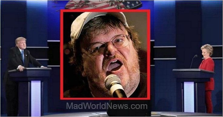 Egocentric Ass Michael Moore Loses It In Jaw-Dropping Debate Tweets
