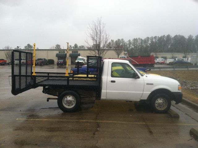 Custom Truck Beds For Lawn Care