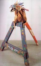 Jimmie Durham: Indiaanse kunst ontmaskerd - Blog n.a.v. tentoonstelling in Antwerpen (2012)