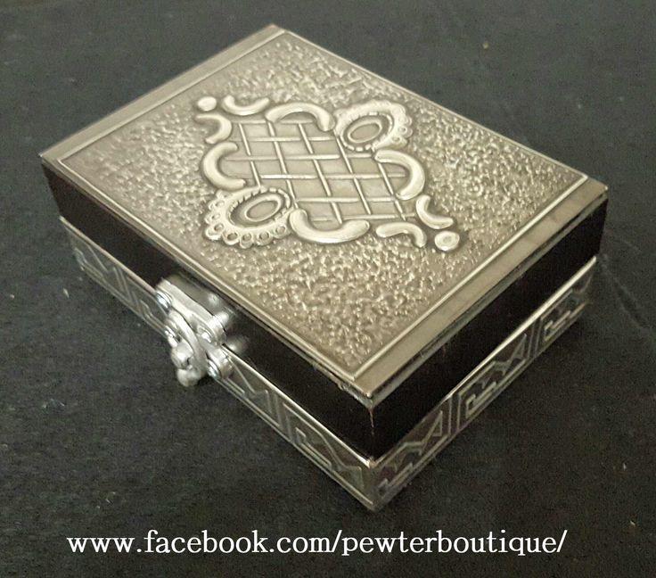 Lined Jewelry Box.