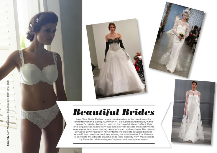 Everyone loves a beautiful bride...our Fashion Friday this week looks at bridal fashion for this season
