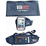 Today's Deals Running Belt   Armband   Gift Bag by B2action. For Iphone 5 6 Plus Ipods Samsung Galaxy S6 S5