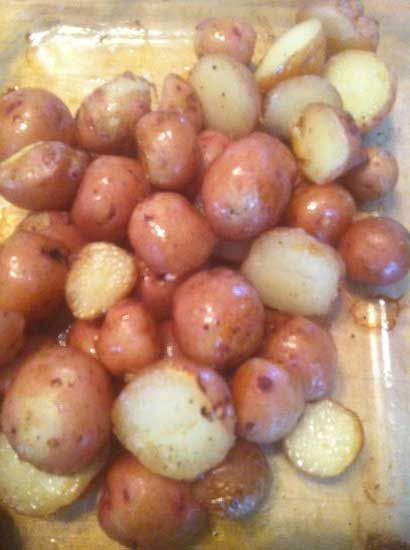 Freezing potatoes - What to do with those potatoes from the garden that have started to sprout! Any style....