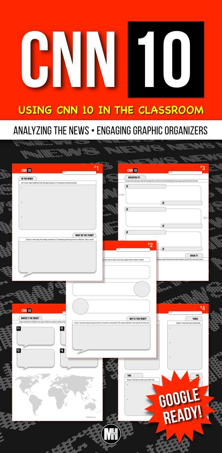 medium resolution of CNN 10 is the perfect source for students to stay informed on current  events. …   Social studies middle school