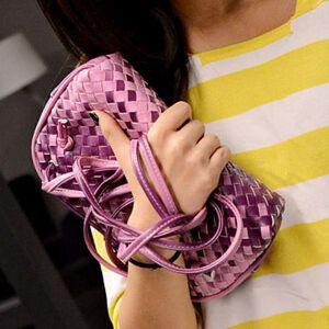 Free shipping / 2015 new / fashion leisure / handbag / shell bag / gradient / Knitting packet / Clutch