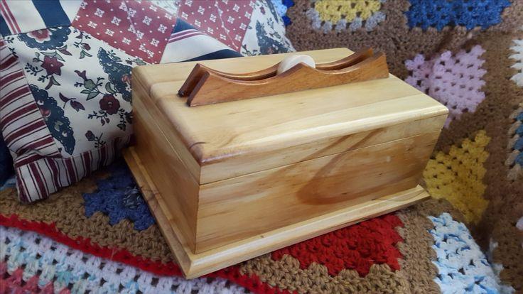Keepsake Box from (mostly) SA Pine