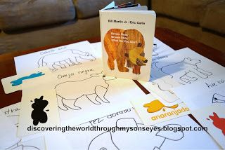 Learning Spanish with Brown Bear, Brown Bear (Oso Pardo, Oso Pardo)