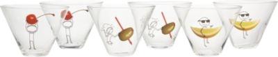 6-piece oliver martini gift set in barware | CB2