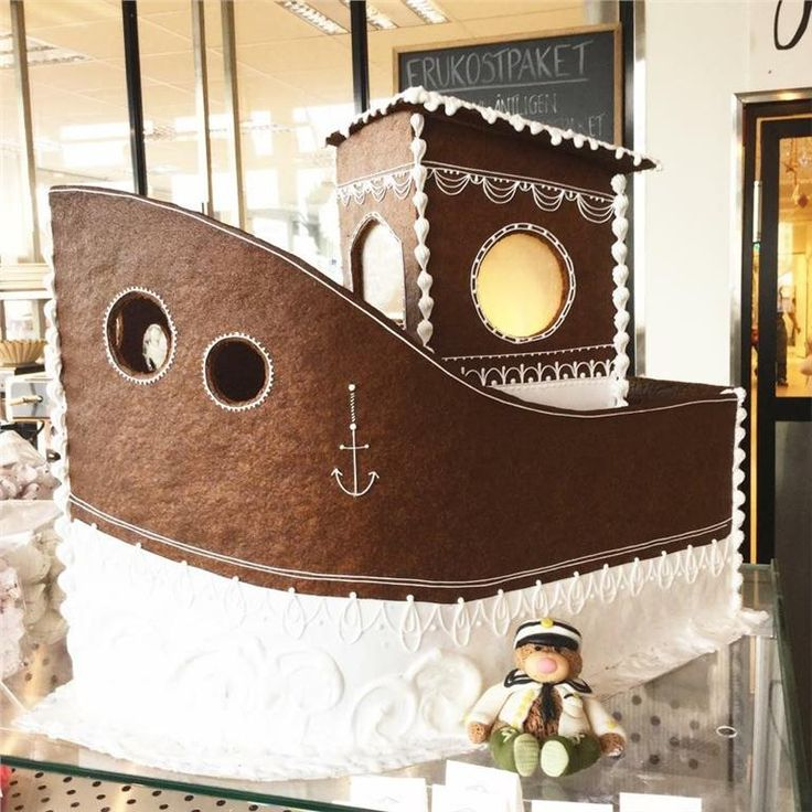 Buda hem Stockholms godaste Pepparkaksbåt! på Tradera.com - Övrigt  