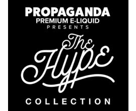 THE HYPE Collection by Propaganda E Liquid 60ml 3mg, 6mg with VG/PG 70/30. Flavors include Blue Slushee E Liquid, Cotton Candy E Liquid, Rocket Pop E Liquid, and Strawberry Shortcake E Liquid. Made in the USA. #TheHype #TheHypeCollection #Hype #PropagandaEliquid #Vape #Vaping #Eliquid #Ejuice