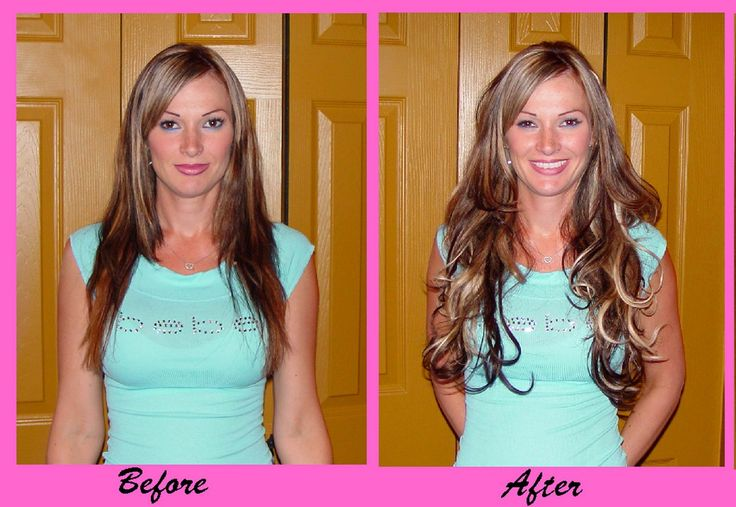 Glue In Hair Extensions-12