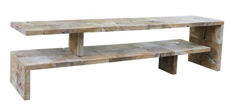 1000 ideas about meubles teck on pinterest colonne for Meuble tele en teck