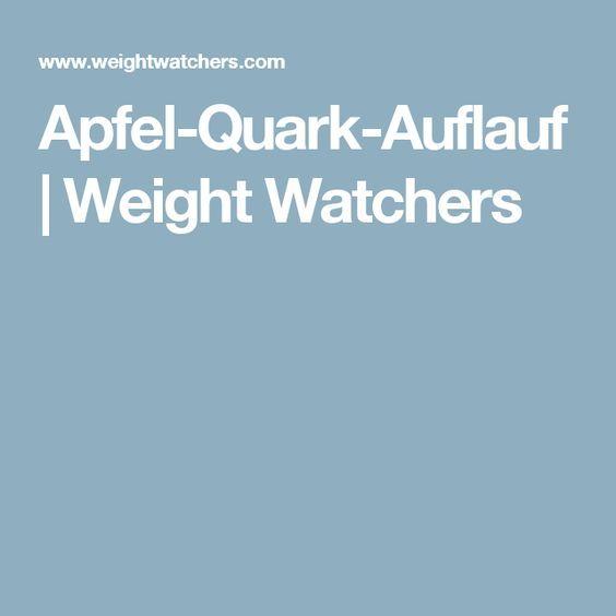 Apfel-Quark-Auflauf   Weight Watchers