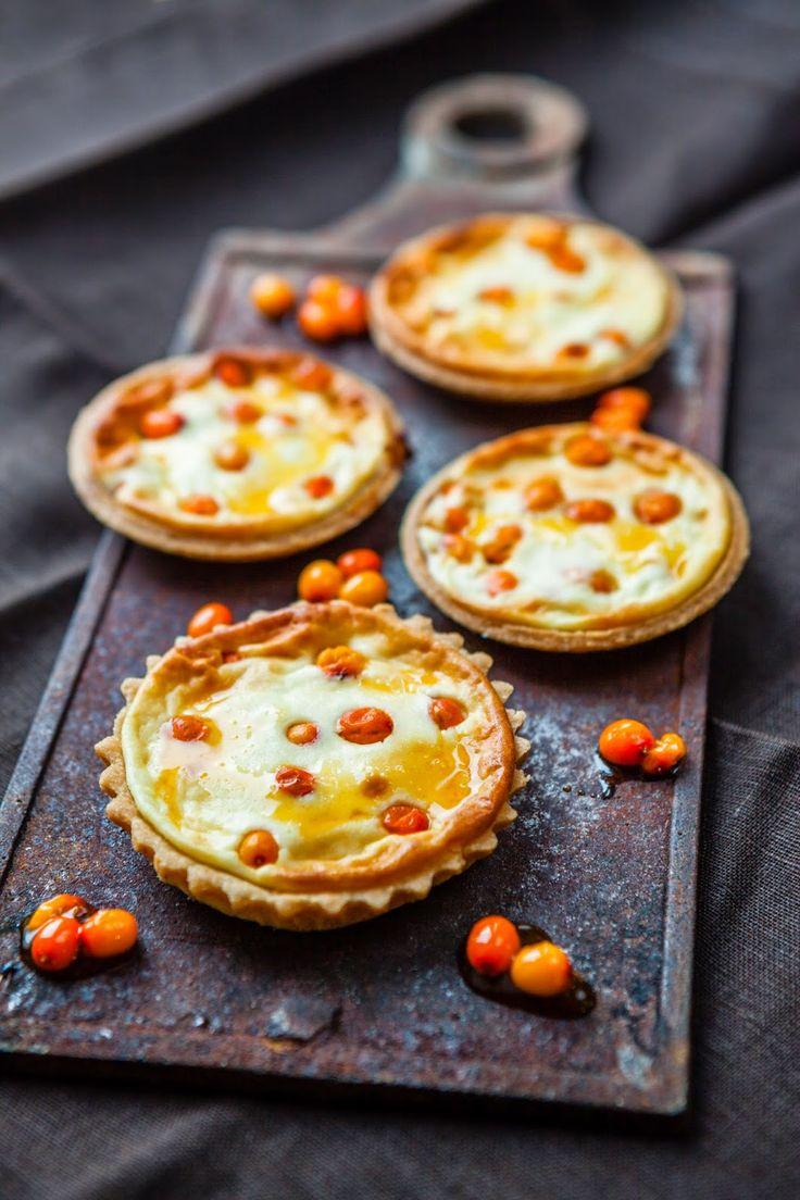 Silja, Food & Paris: Mahetoit ja ahvatlev astelpaju-kohupiima kook