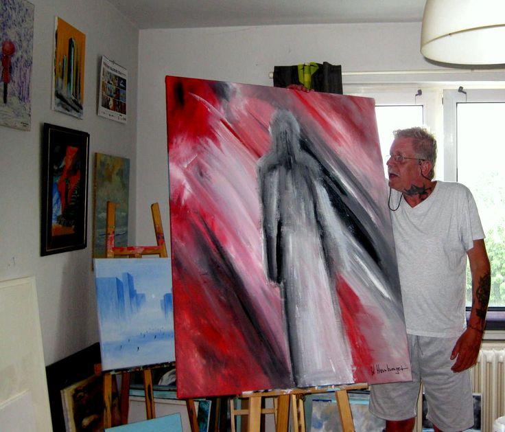 Acryl/Leinwand 90 cm x 112 cm x 2 cm Preis über PN Seelenwanderung