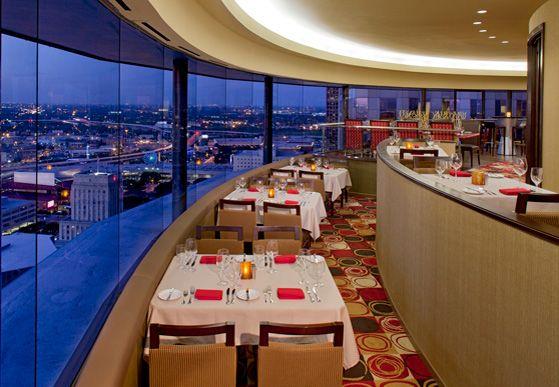 Downtown Houston Restaurant Guide - Houston TX Restaurant - Spindletop