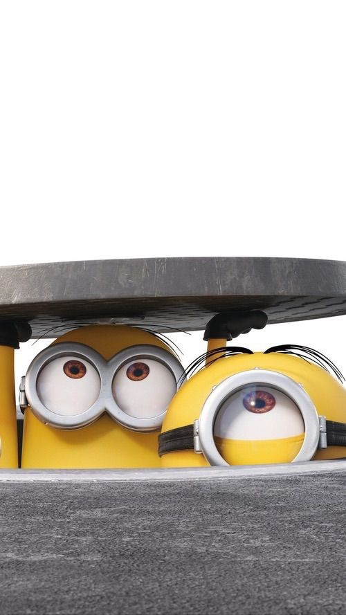 Official minion iPhone wallpaper