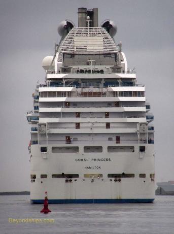 Coral Princess cruise ship