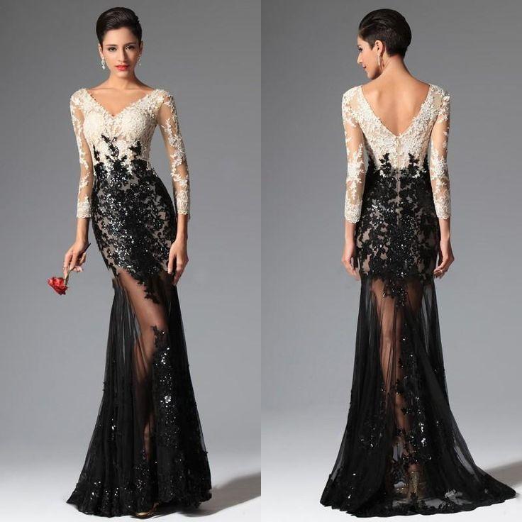 172 best evening dresses images on Pinterest | Formal evening ...