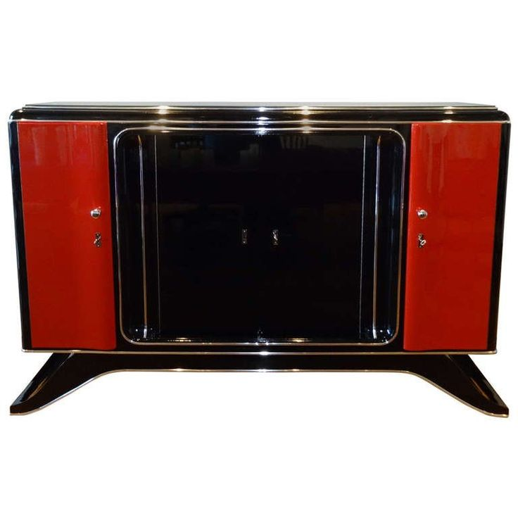 """1920s Art Deco Highboard """"Art de TV,"""" Brussels 