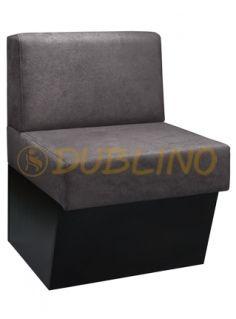 Dublino System/1085/180 - Restaurační lavice s plným boxem čalouněná.