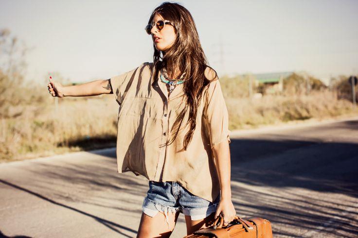 SUMMER FESTIVAL COLLECTION: #Coachella inspiration. Loose shirt. #boho http://www.lolandtonic.com/products/eric-shirt-1