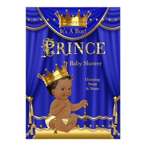 517 Best Images About Prince Baby Shower On Pinterest