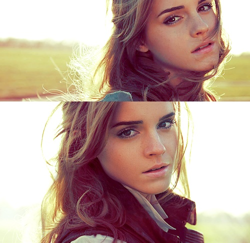 Emma Watson! I miss her long hair, but still one of the most gorgeous people on the face of this earth