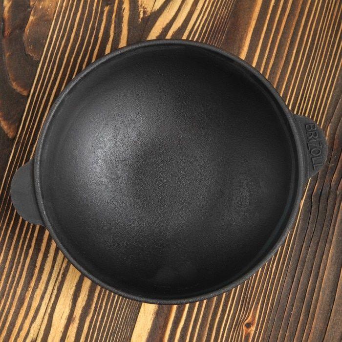 مقلاه ومرجل من حديد الزهر وعاء الشواء وعاء لحمس القهوه مقلاة القدح Hw18frying Pan Cauldron Cast Iron Hand Grill Coffee Pot Bowl Frying Pan Iron Hand Coffee Pot