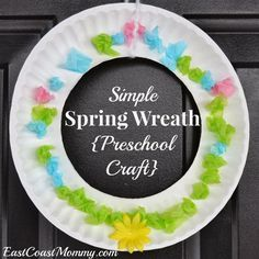 preschool spring crafts   Need an easy Spring craft that is sure to brighten your day? This ...