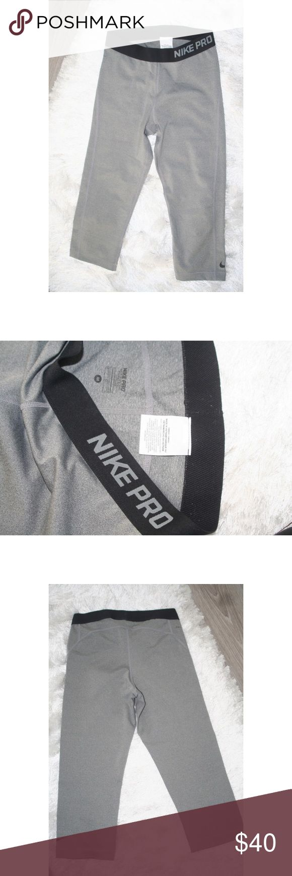 Nike Pro Pants M Women's (Gray) Like new never worn. No trades ✌🏽 Nike Pants