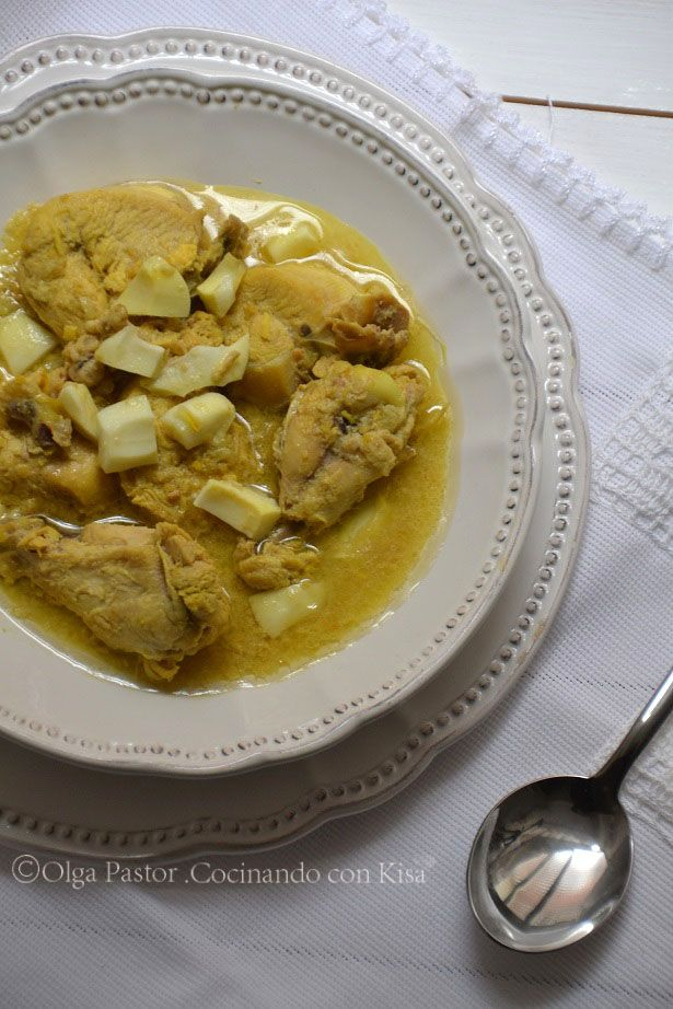 Cocinando con kisa pollo en pepitoria thermomix for Cocinando con kisa