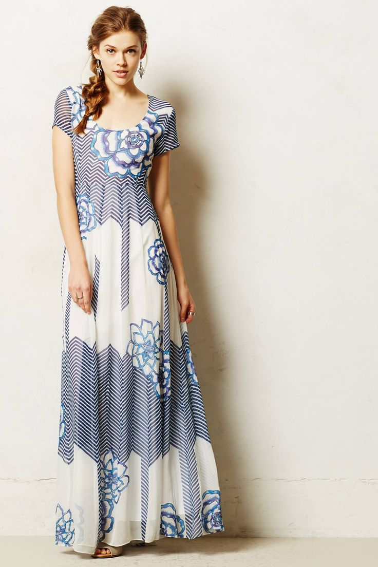 Sometimes my expensive taste literally pains me.  Utpala Maxi Dress - anthropologie.com