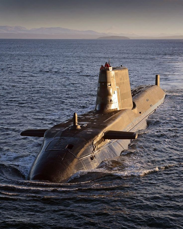 Submarine - Various UK Ministry of Defence Photos.