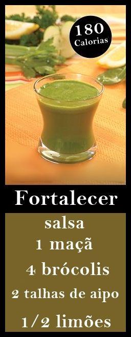 Suco Detox Para Fortalecer #saude #salud #health #dicas #receita #suco #juice