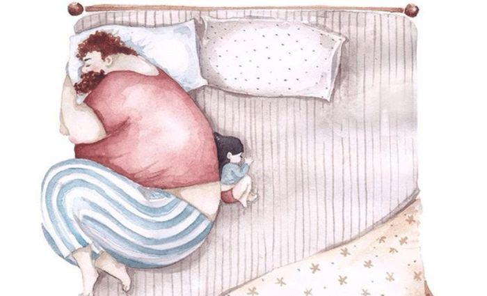 Hartverwarmende illustraties: band tussen vaders en dochters