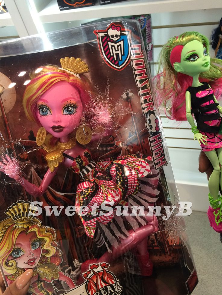 Jupiters Closet: Monster High Gooliope Jellington - What