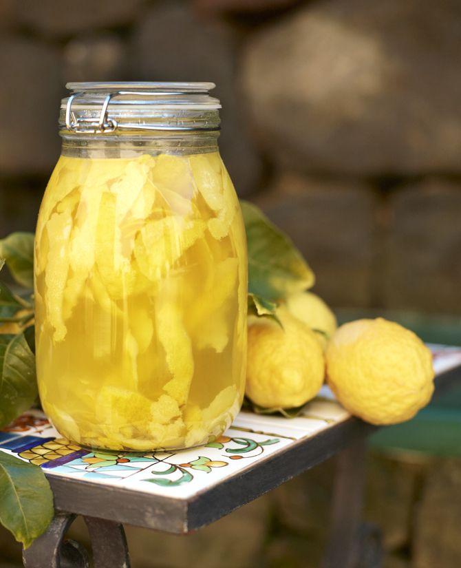 DIY limoncello