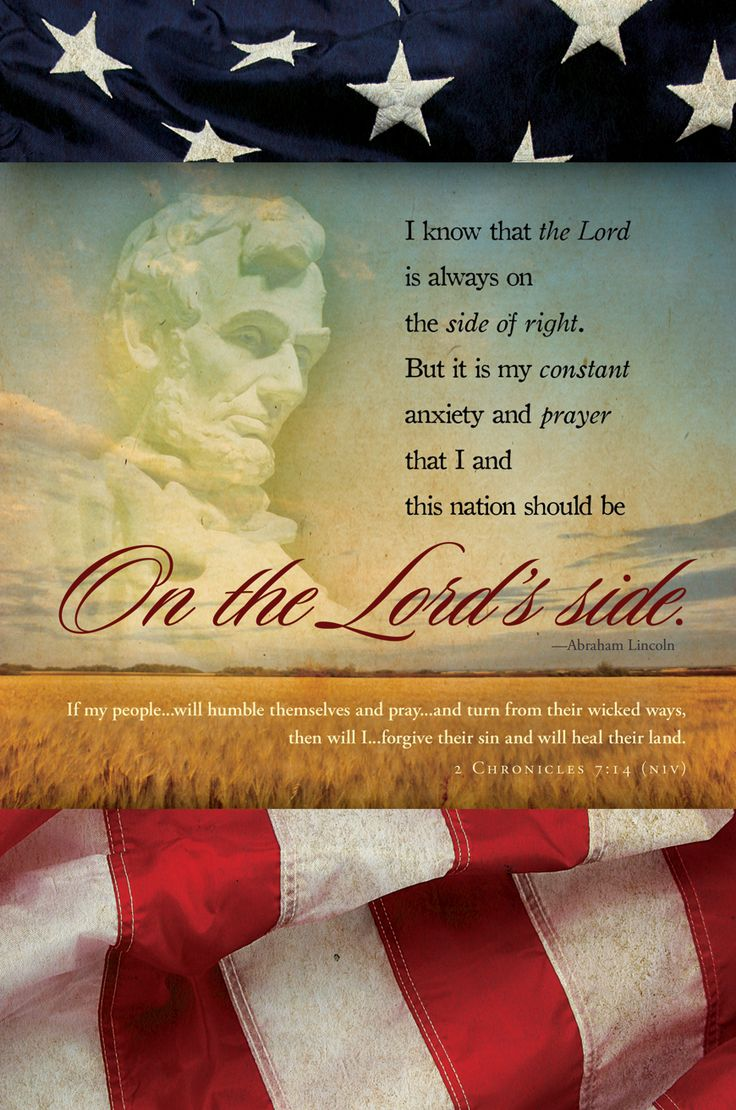 On the LORDS side, in PRAYER. Those people who say this country was not founded on Christian principles, and that our forefathers were not believers, are absolute being deceitful.