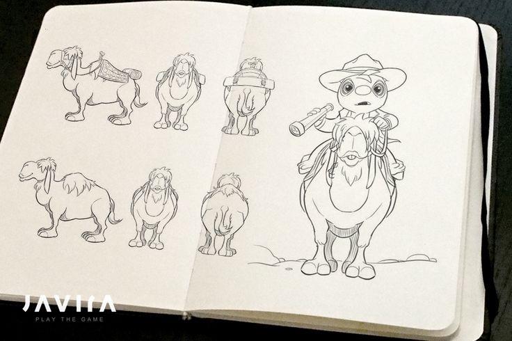 Concept for TIMO's trusted camel Mindy. | Developer blog