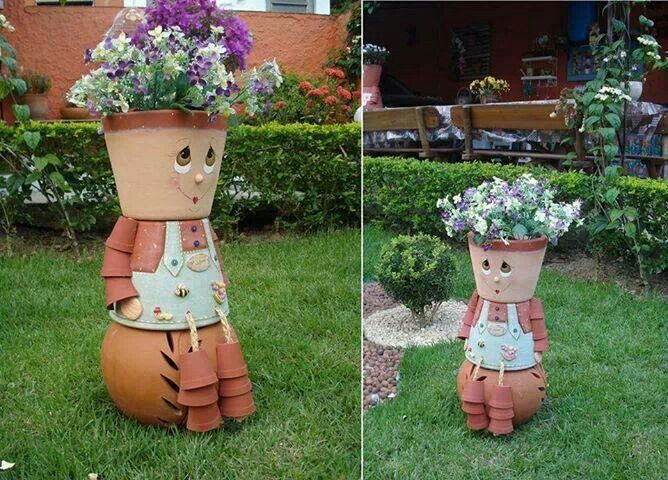 73 best best out of waste images on pinterest home ideas for Best out of waste garden ideas